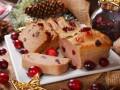 Блюда на Новый год: Паштет с клюквой