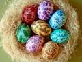 Как украсить пасхальные яйца: Акварельный дизайн