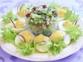 Пасхальные рецепты: Весенний салат из редиса и огурцов