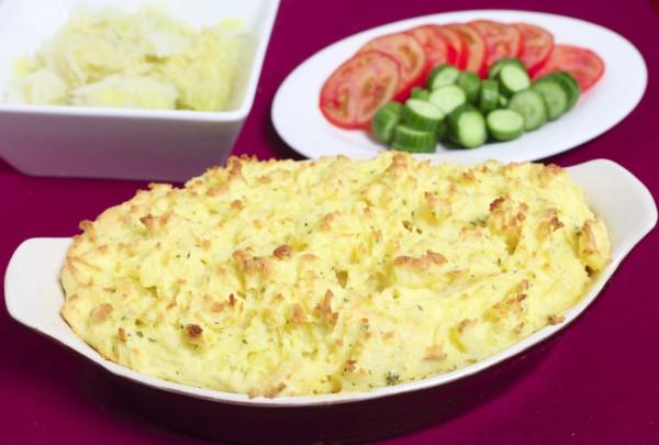 Рецепт                  Картофельная запеканка с рыбой по рецепту Джейми Оливера