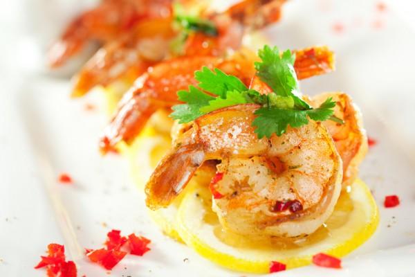 Рецепт                  Новогодние рецепты: Жареные креветки с лимоном