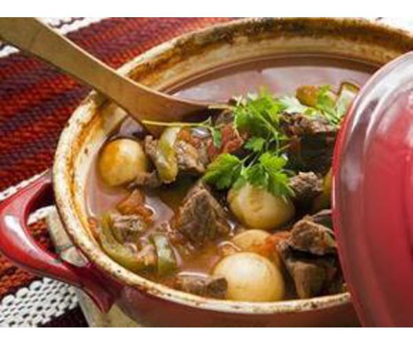 Рецепт                  Гуляш по-венгерски
