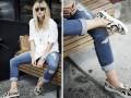 Рваные джинсы: ТОП-17 весенних идей на каждый день