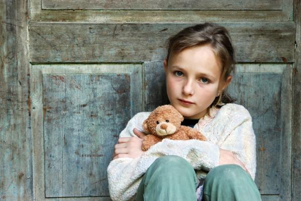 Детская депрессия изменяет строение