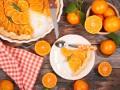 Апельсиновый тарт с кремом