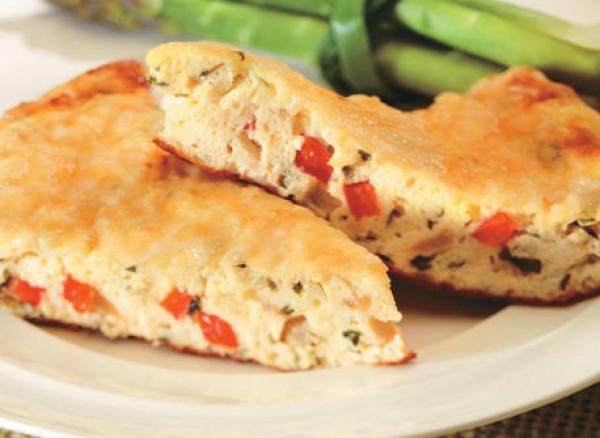 Рецепт                  Фриттата с картофелем и перцем
