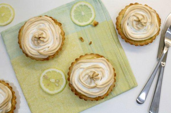 Рецепт                  Лимонные тарталетки с безе