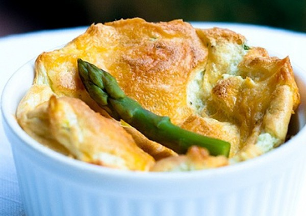 Рецепт                  Яичное суфле на завтрак