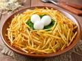 Как приготовить пасхальный салат Гнездо