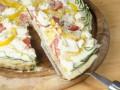 Как приготовить пирог с овощами и сыром