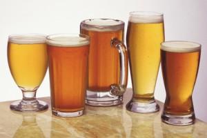 Основные виды пива - темное и светлое