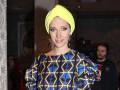 Осадчая в тюрбане и Могилевская в мехах: Звезды посетили модный показ