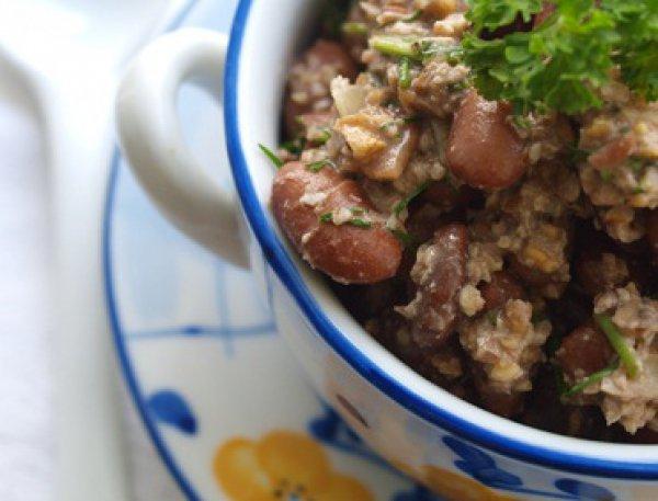 Рецепт                  Лобио с орехами