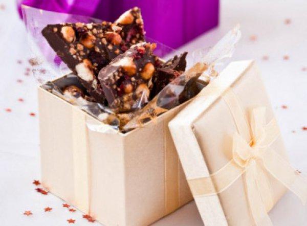 Рецепт                  Рождественский шоколад с орехами и фруктами
