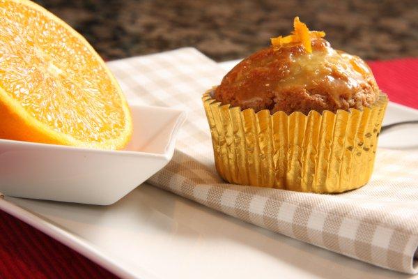 Рецепт                  Творожные кексы с апельсином