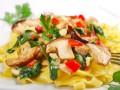 Паста с грибами: ТОП-5 рецептов
