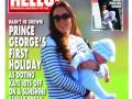 Кейт Миддлтон и маленький принц Джордж попали на обложку журнала