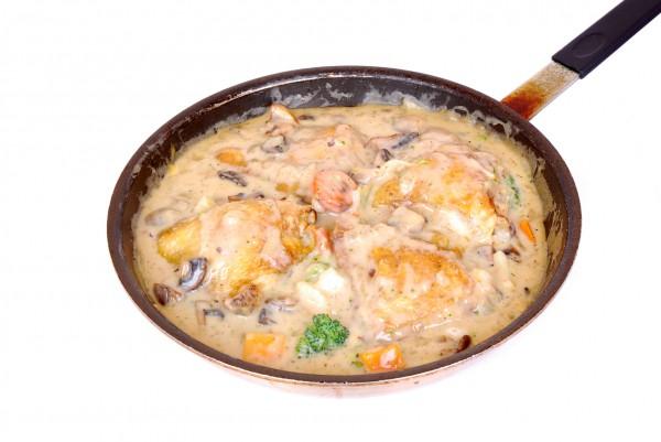 Рецепт                  Курица по-дижонски