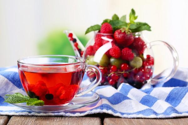 Рецепт                  Зимний чай из замороженных ягод