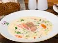 Как приготовить сливочный суп с форелью (видео)