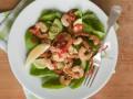 Новогодние рецепты: Салат из креветок и авокадо