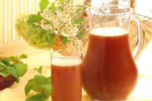 Национальный напиток, прекрасно утоляет жажду в самую страшную...