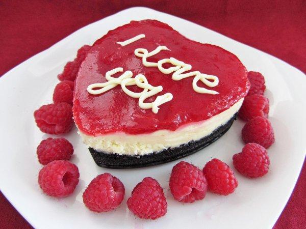 Рецепт                  Мини-чизкейки на День святого Валентина
