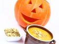 Страшно вкусно: сырное фондю в тыкве на Хэллоуин