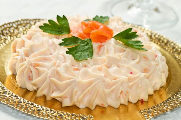 Рецепт                  Рецепты на Новый год: Мусс из лосося