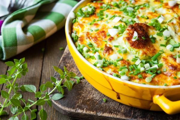 Рецепт                  Запеканка из кабачков с сыром