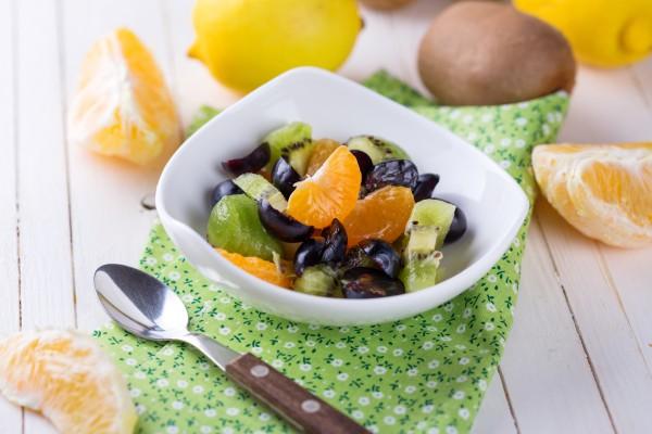 Рецепт                  Великий пост 2015: Фруктовый салат с медовой заправкой