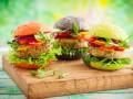 Как приготовить вегетарианский бургер