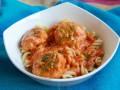 Тефтели из индейки в томатном соусе с песто