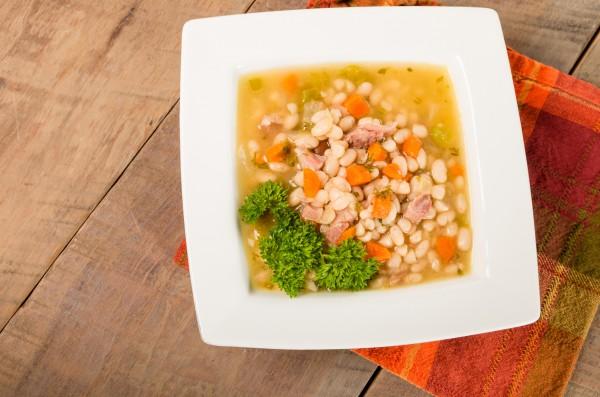 Рецепт                  Суп с говядиной и белой фасолью