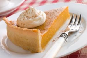 Сладкий тарт с начинкой из тыквы