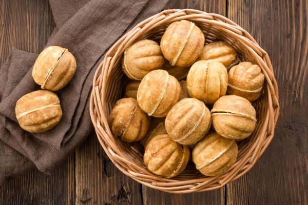 орешки со сгущенкой как в детстве рецепт