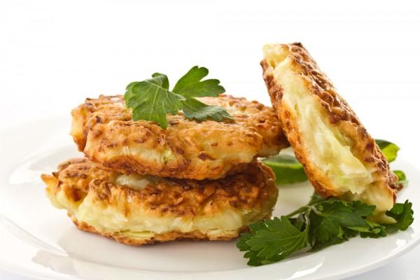 Рецепт                  Оладьи з цветной капусты