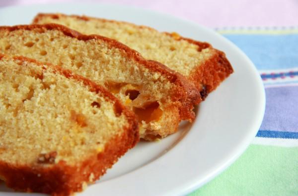 Рецепт                  Мандариновый кекс с изюмом