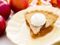 Американский яблочный пирог с корицей