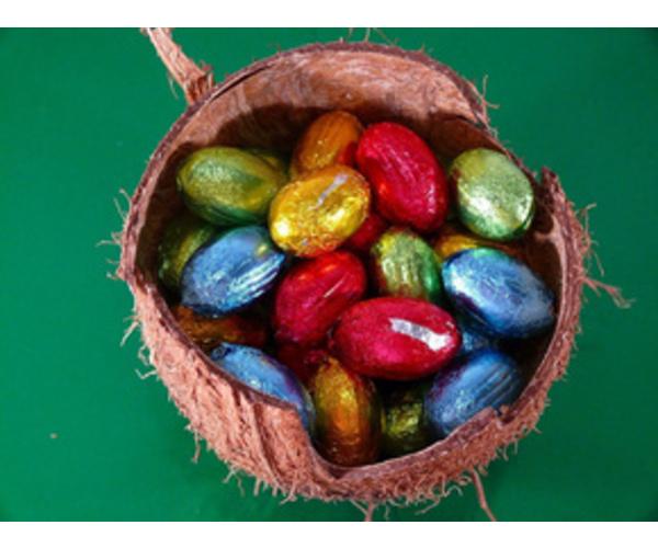 Рецепт                  Кокосовые пасхальные яйца