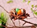 Как приготовить шоколадные пасхальные гнезда
