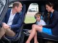 Принц Уильям и Кейт Миддлтон с сыном посетили королевский авиапарад