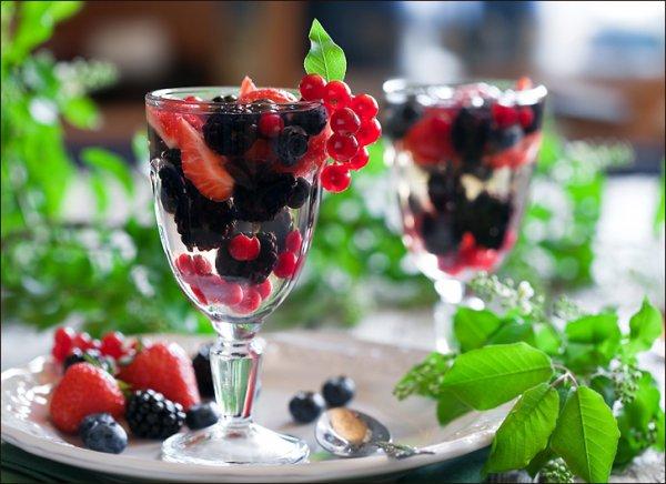 Рецепт                  Ягодное желе с белым вином