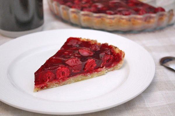 Рецепт                  Вишневый пирог из творожного теста