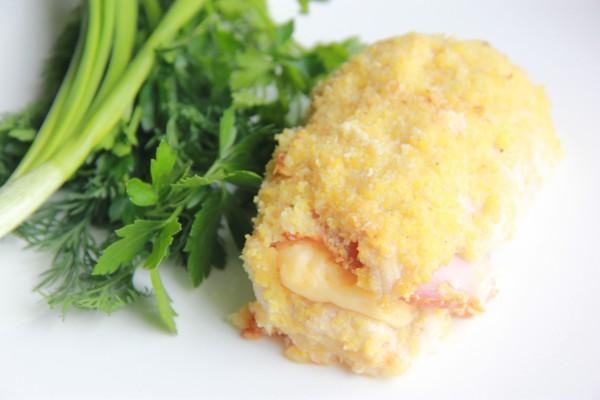 Рецепт                  Кордон блю из курицы в духовке
