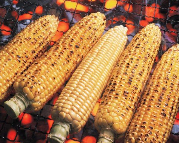 Рецепт                  Запеченная кукуруза на гриле