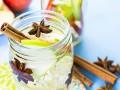 Как приготовить яблочную воду с корицей для похудения