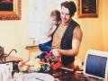 Максим Галкин снялся в трогательной фотосессии с сыном