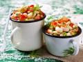 Как приготовить мексиканский салат с фасолью