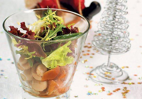 Рецепт                  Салат из лесных грибов